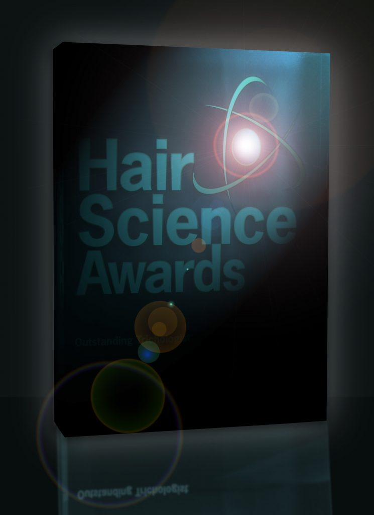 trophy of Hair science awards